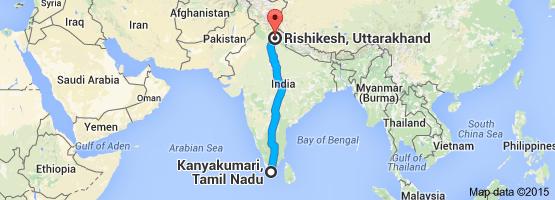 mappa india